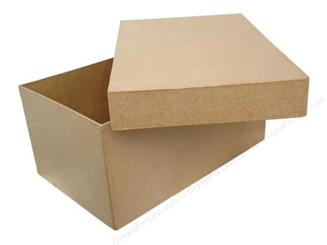 craft paper boxes paper mache box 11 x 7 in photo by craft pedlars 6 boxes