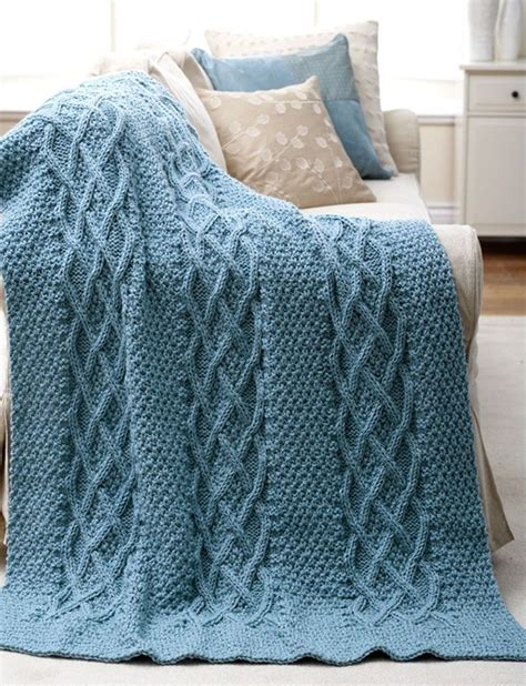 cable knit throw pattern free 17 best ideas about knitted afghan patterns on