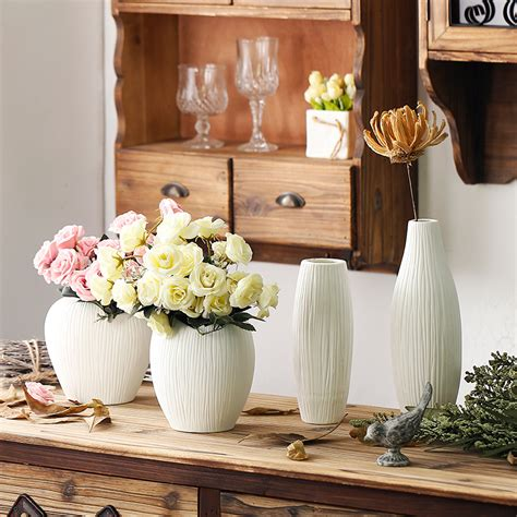 white ceramic vases for wedding antique ceramic wedding decorative vase modern white ceramic vase artificial flower tabletop