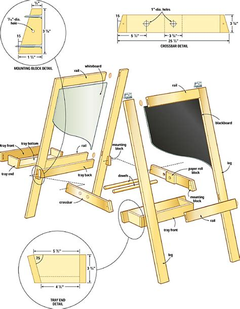 easel woodworking plans plans for wood easel pdf woodworking