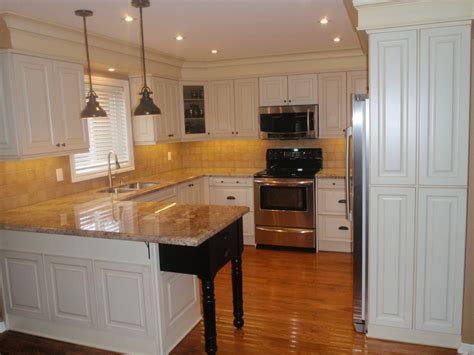 pot lights in kitchen custom kitchen renovation in thornhill canadiana