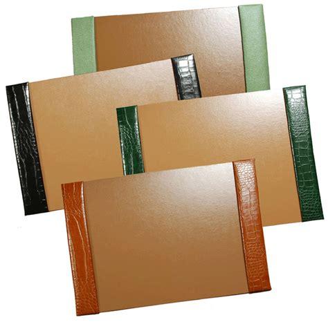 desk blotters leather desk blotters desk pads and blotters custom