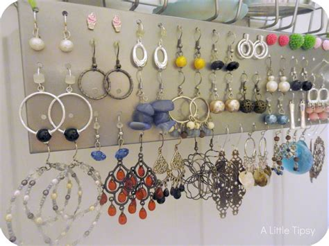 how to make metal jewelry at home tidy earrings with coloful details and various shapes on