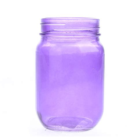purple glass purple glass canning jar decorative containers kitchen