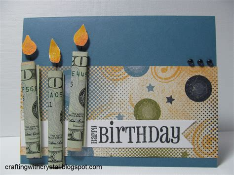 Crafting With Money Gift On The Card