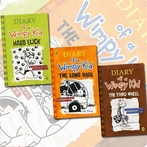 pictures of jeff kinney books jeff kinney s diary of a wimpy kid 3 collection set in au
