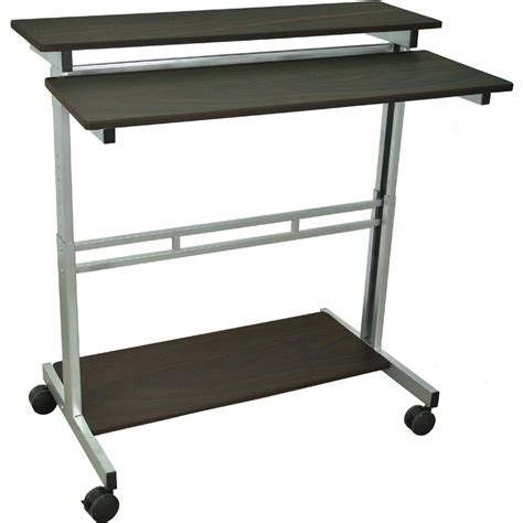 stand up desk stand luxor standup 40 b or standup 40 dw adjustable stand up desk