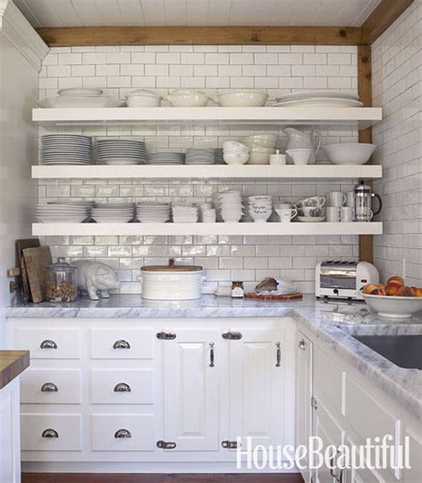 open shelving for kitchen open shelving these 15 kitchens might convince you