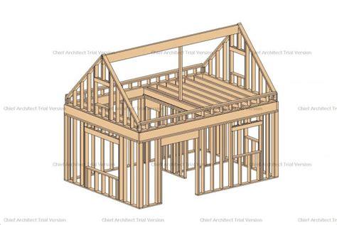 10 X 20 Cabin Floor Plan 14x16 cabin small house plans modern