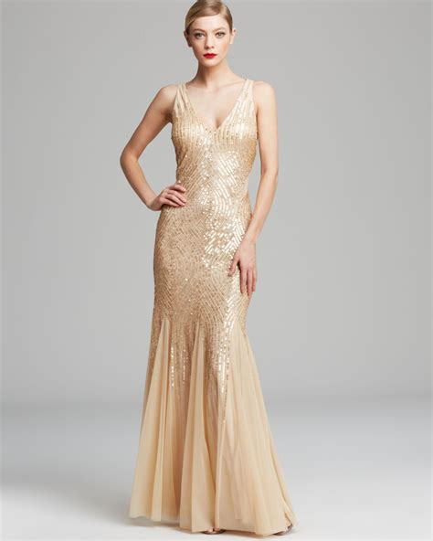 sleeveless beaded illusion gown papell gown sleeveless v neck beaded with