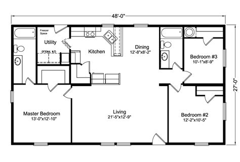 Floor Plans Texas the factory select 4g28483x manufactured home floor plan