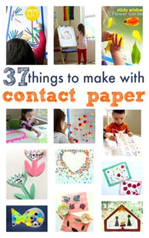 contact paper craft store carnival crafts for carnival crafts