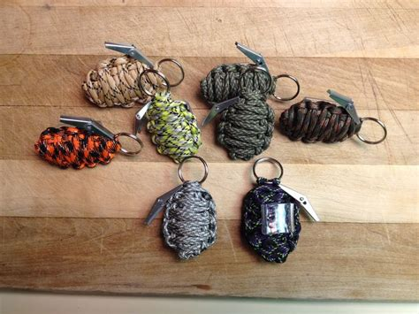 paracord craft projects paracord grenade slides easy just do the
