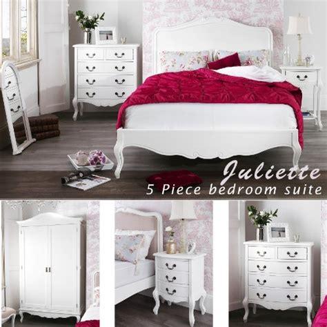 shabby chic white bedroom furniture juliette shabby chic antique white 5pc bedroom furniture