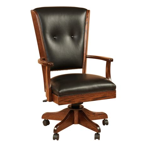 Desk Chairs by Amish Desk Chairs Amish Furniture Shipshewana Furniture Co