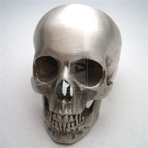 silver skull skull ring ebay