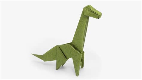 origami easy dinosaur origami brachiosaurus jo nakashima dinosaur 4