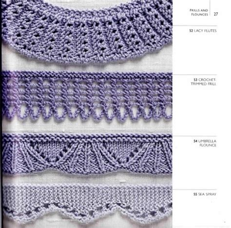 knitting edges the 1606 best images about lace knitted edges borders