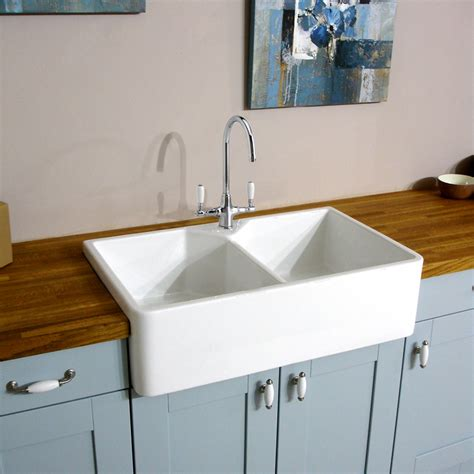 ceramic sinks kitchen astini belfast 800 2 0 bowl traditional white ceramic