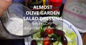 is olive garden salad dressing gluten free no refrigeration the boat galley