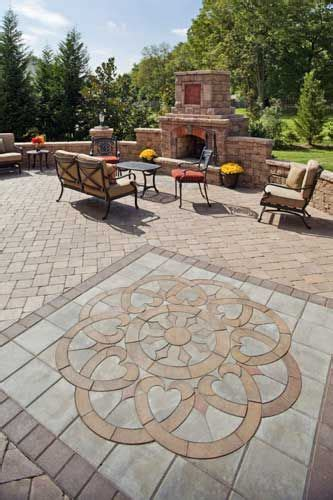 designs for patio pavers best 25 paver designs ideas on paver patterns