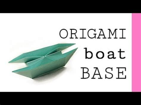 origami boat base origami boat base my crafts and diy projects