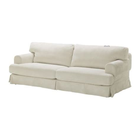 ikea slipcovers fit other sofas ikea hov 197 s hovas sofa slipcover cover graddo beige