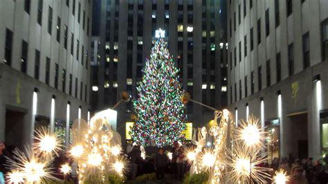 happy holidays from the rockefeller center tree