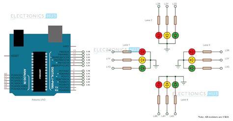 light controller schematic arduino traffic light controller
