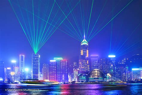 best lights show symphony of lights in hong kong kowloon attractions