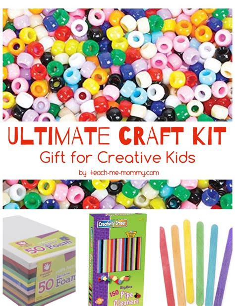 craft kit for the ultimate craft kit for creative teach me