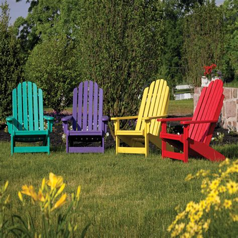 Colored Plastic Adirondack Chairs by Patio Plastic Adirondack Chairs Home Depot For Simple