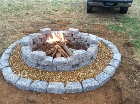cool firepit cool pit garden