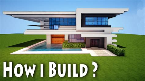 minecraft home design minecraft birth of a modern house how i come up with