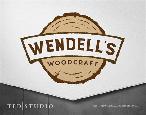 woodworking logo professionally designed woodcraft woodworking logo by