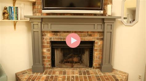 how to build fireplace easy fireplace mantel diy checking in with chelsea