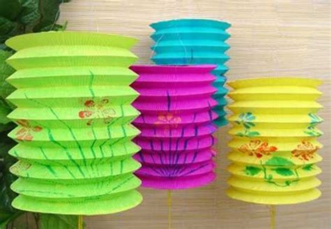 paper lanterns craft ideas new year decorations flower arrangements and