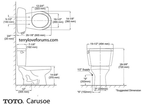 Eco Toilet Dimensions by Toto Drake Specs Bruin Blog