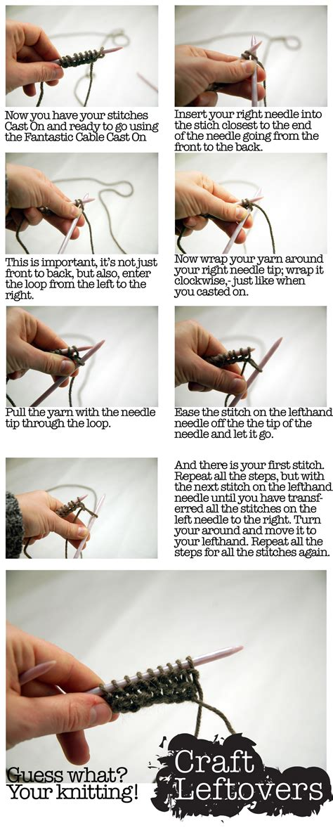 how to do a knit stitch for beginners learn knitting photos images bloguez