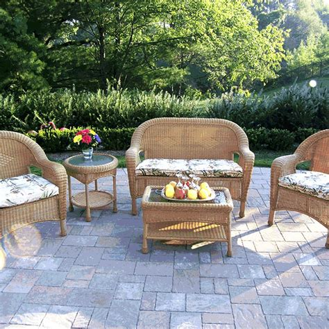 cheap wicker patio furniture sets outdoor wicker furniture sets clearance