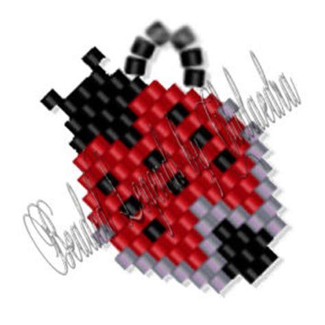 beaded ladybug pattern ladybug earrings sova enterprises