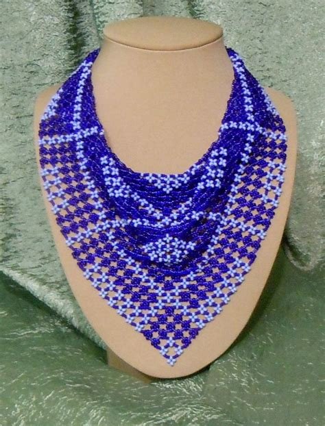 beaded scarf necklace 17 best images about beaded scarf on seed bead