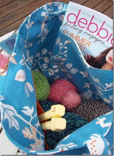 crochet knitting bag crochet knitting bag a jennuine
