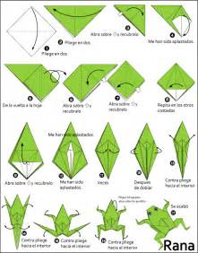 origami frog origami rana