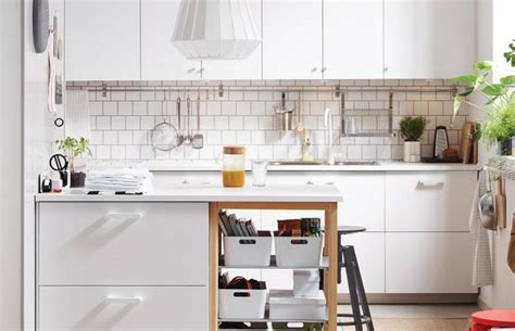 space saving ideas for kitchens ways to open small kitchens to space saving ideas from ikea