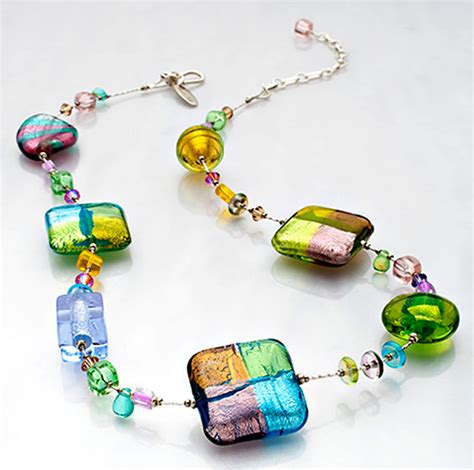 make fashion jewelry primavera 18 glass necklace fashion jewelry