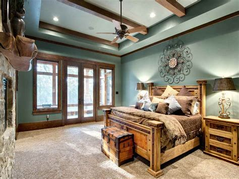 rustic paint colors for a bedroom home design rustic bedroom mountain lodge rustic