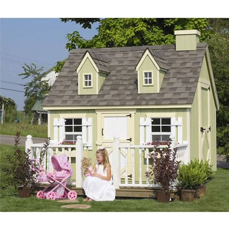cozy cottage playhouse 6x8 or 8x8