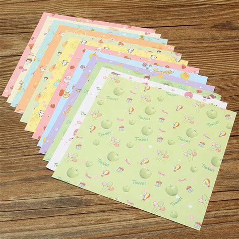 square craft paper 72pcs set square floral pattern origami paper single