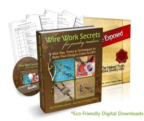 wire work secrets jewelry tutorials wire work secrets for jewelry makers review discover